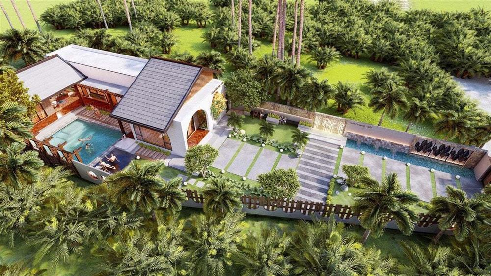 Nhà vườn 3 mặt thoáng, mở cửa là đắm chìm vào hồ bơi xanh mát-1