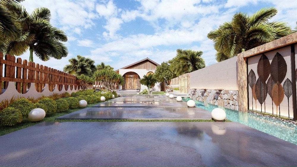 Nhà vườn 3 mặt thoáng, mở cửa là đắm chìm vào hồ bơi xanh mát-3