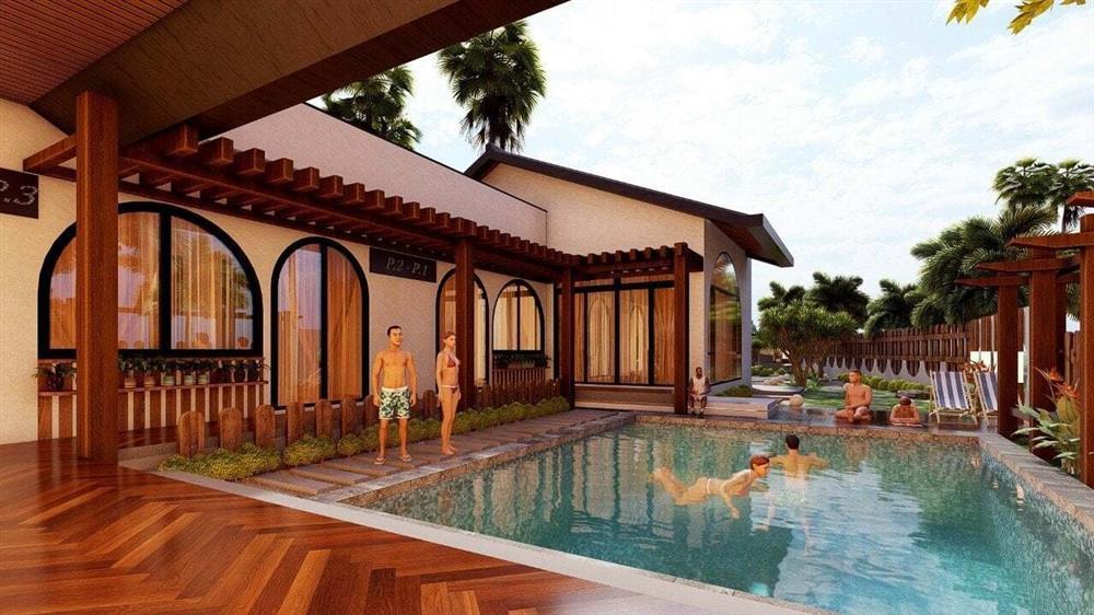 Nhà vườn 3 mặt thoáng, mở cửa là đắm chìm vào hồ bơi xanh mát-4