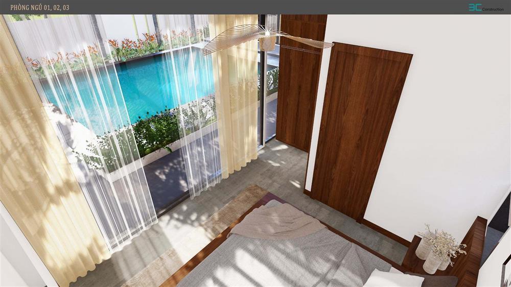 Nhà vườn 3 mặt thoáng, mở cửa là đắm chìm vào hồ bơi xanh mát-20