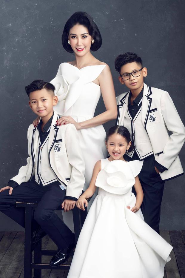 """Hà Kiều Anh kỉ niệm 14 năm ngày cưới sau ồn ào công chúa triều Nguyễn, visual cả nhà đỉnh chóp"""" nhưng có 1 điều gây tiếc nuối!-5"""