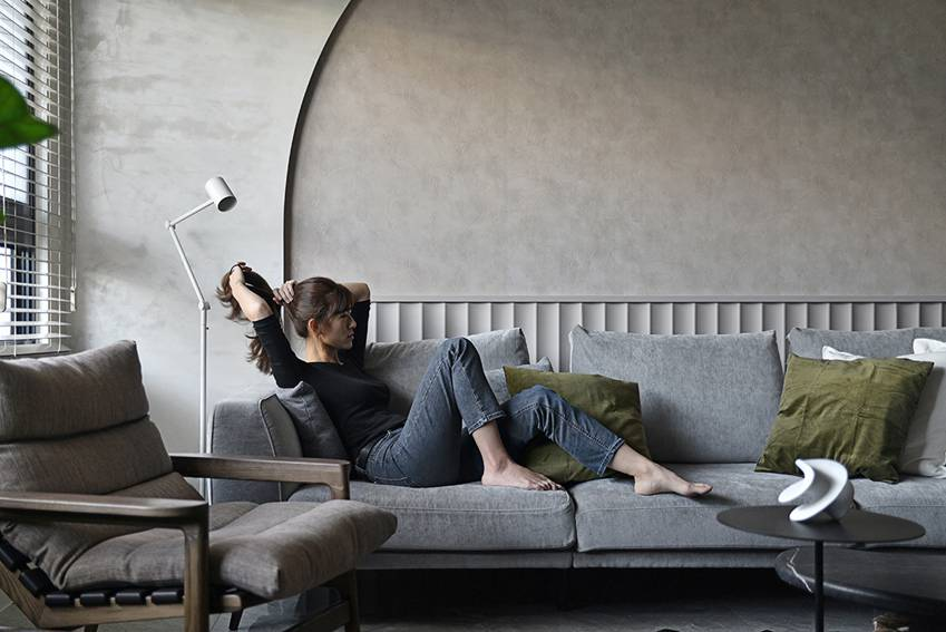 Ngôi nhà 60m2 có 3 thế hệ cùng sinh sống: Thiết kế lạ không giống khuôn mẫu thông thường, phòng bếp độc đáo trông như một hang động thu nhỏ-2