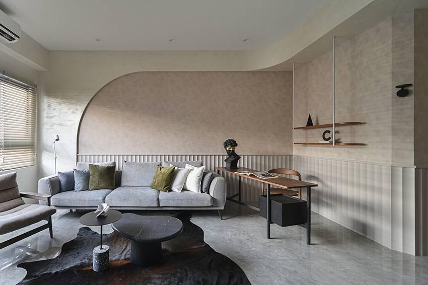 Ngôi nhà 60m2 có 3 thế hệ cùng sinh sống: Thiết kế lạ không giống khuôn mẫu thông thường, phòng bếp độc đáo trông như một hang động thu nhỏ-4