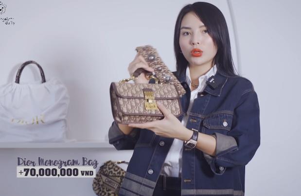 Lóa mắt tủ đồ Dior nửa tỷ của Hoa hậu Kỳ Duyên-1