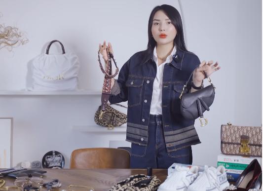 Lóa mắt tủ đồ Dior nửa tỷ của Hoa hậu Kỳ Duyên-6