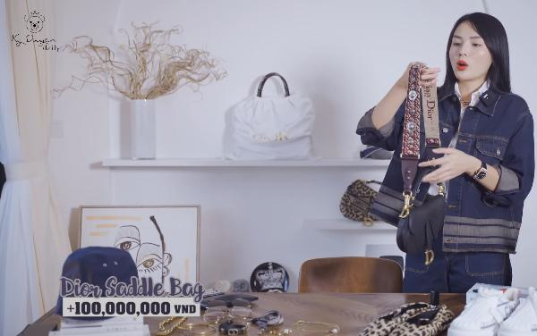 Lóa mắt tủ đồ Dior nửa tỷ của Hoa hậu Kỳ Duyên-7