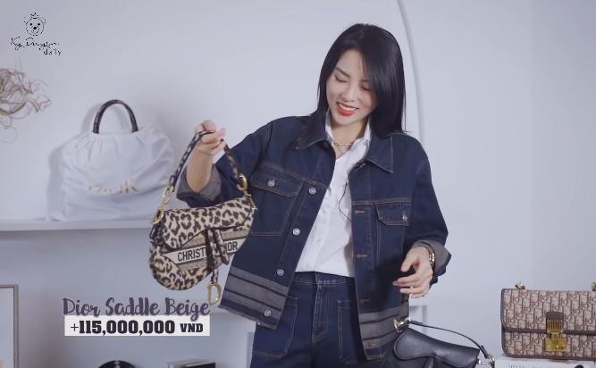 Lóa mắt tủ đồ Dior nửa tỷ của Hoa hậu Kỳ Duyên-9