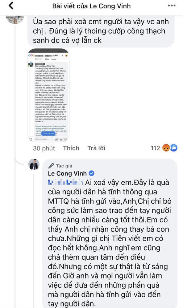"""Thuỷ Tiên bị tố nhận vơ"""" cả trăm tấn lương thực người dân Hà Tĩnh tiếp tế cho Sài Gòn, Công Vinh bức xúc lên tiếng phân trần-3"""
