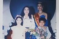 Em trai đăng ảnh lúc Hoa hậu Thu Thủy đăng quang, thổn thức nhớ chị