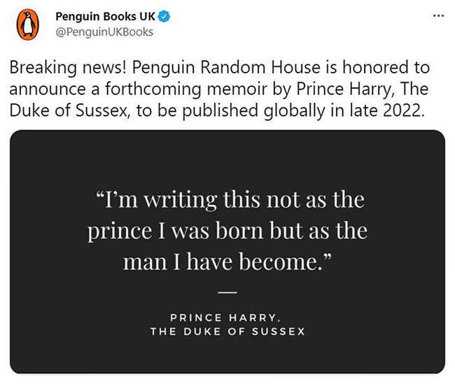 Hoàng gia Anh phá vỡ quy tắc, lên tiếng về cuốn hồi ký gây tranh cãi của Harry-1