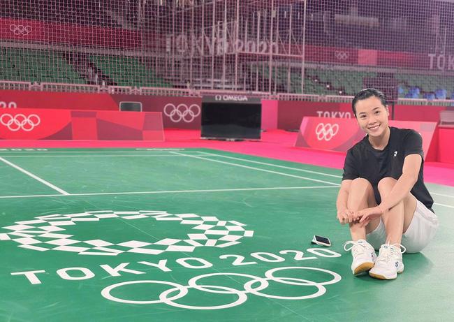 Hot girl cầu lông Nguyễn Thuỳ Linh đại thắng sao Pháp gốc Trung Quốc ở Olympic Tokyo-4