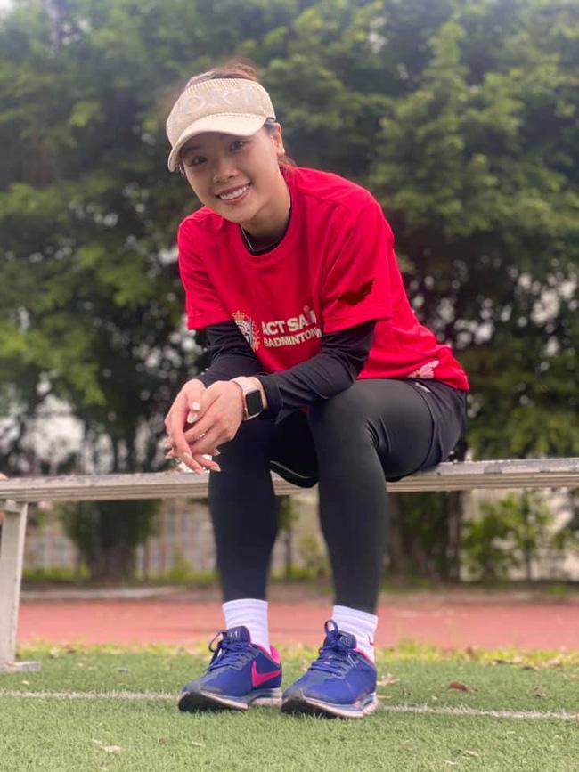 Hot girl cầu lông Nguyễn Thuỳ Linh đại thắng sao Pháp gốc Trung Quốc ở Olympic Tokyo-5