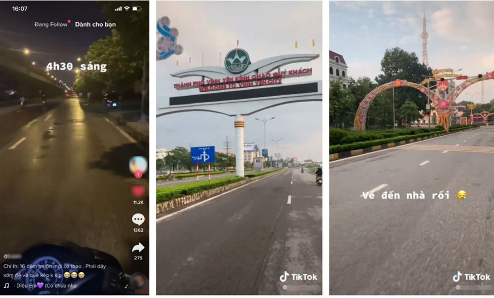 Khoe chiến công dậy từ 4h30 sáng để phượt về quê ngay trước giờ Hà Nội giãn cách, cô gái bị dân mạng lên án gay gắt-1