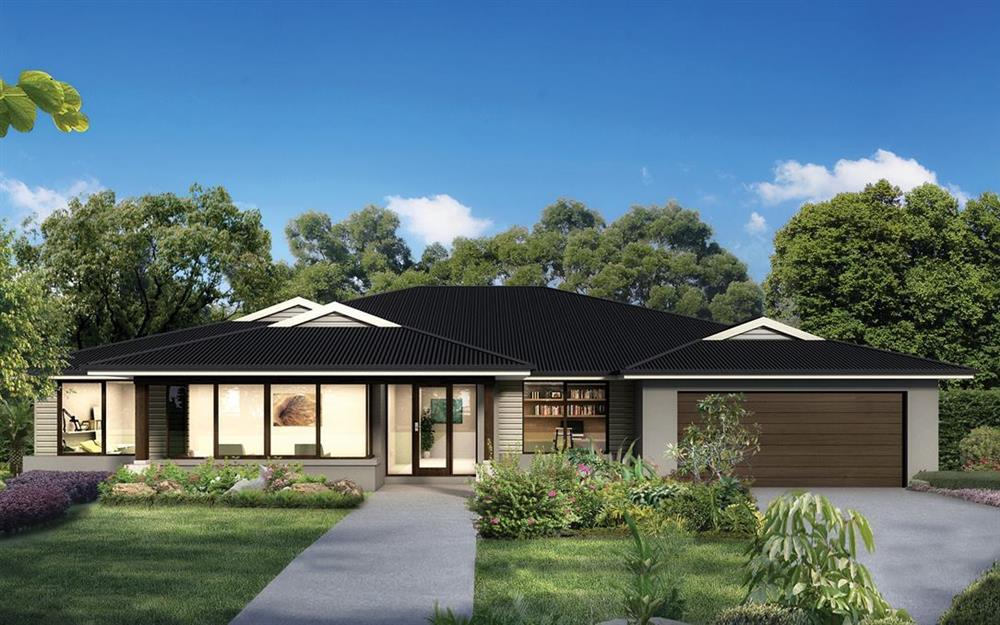 Những mẫu nhà vườn 1 tầng 4 phòng ngủ đẹp đẳng cấp, cho bạn cuộc sống sang chảnh và không gian nghỉ dưỡng hoàn hảo-6