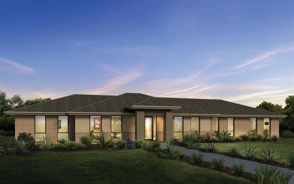 Những mẫu nhà vườn 1 tầng 4 phòng ngủ đẹp đẳng cấp, cho bạn cuộc sống sang chảnh và không gian nghỉ dưỡng hoàn hảo-4
