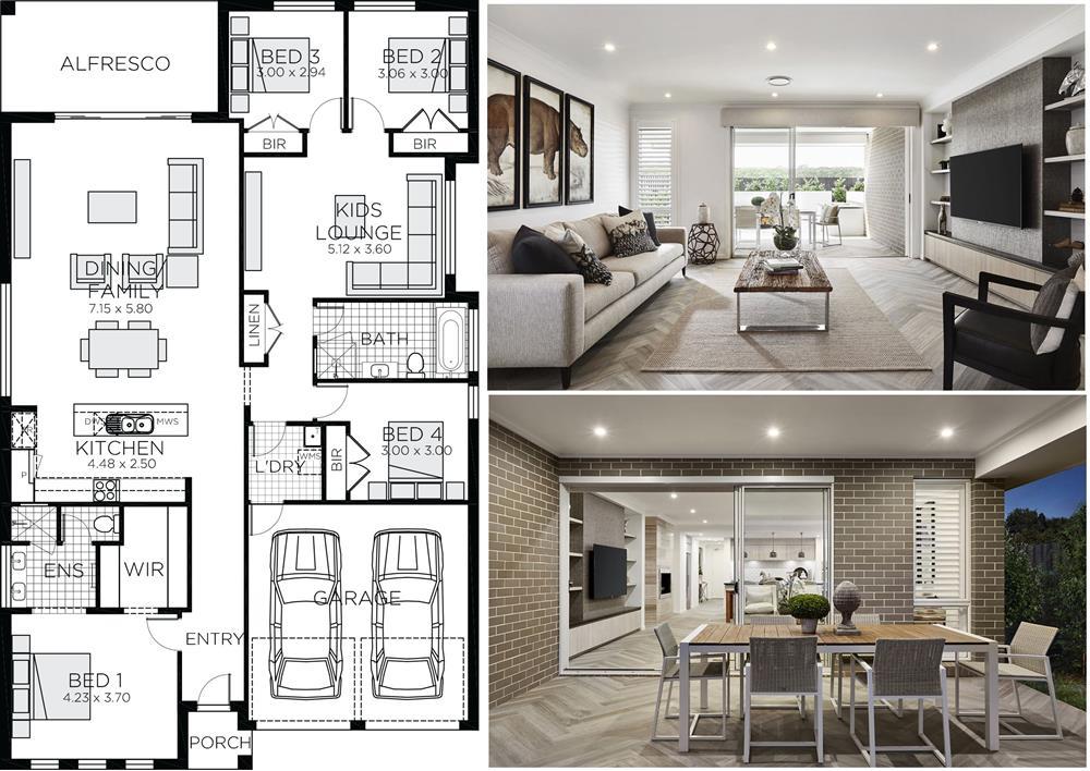 Những mẫu nhà vườn 1 tầng 4 phòng ngủ đẹp đẳng cấp, cho bạn cuộc sống sang chảnh và không gian nghỉ dưỡng hoàn hảo-15