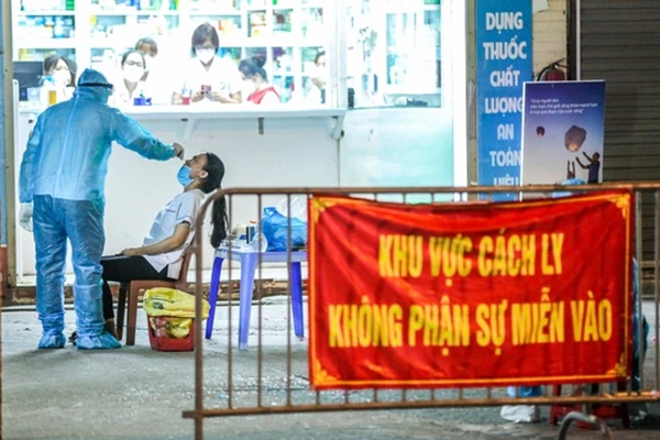 Sáng 25/7, Hà Nội phát hiện thêm 10 ca dương tính SARS-CoV-2 ở 6 ổ dịch-1