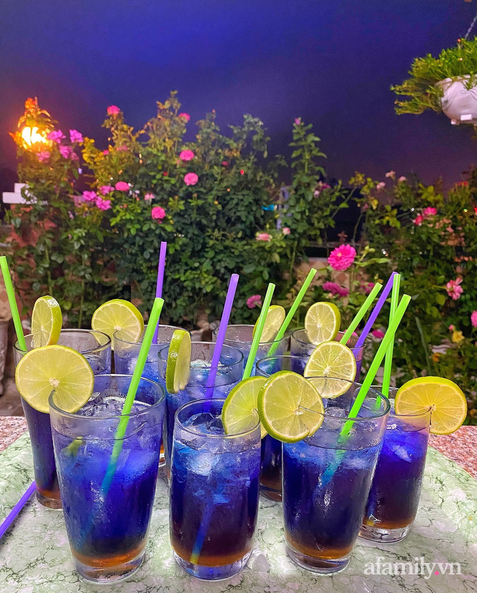 Sân thượng phủ kín hoa hồng và rau quả sạch ở Sài Gòn của Hoa hậu Janny Thủy Trần-31