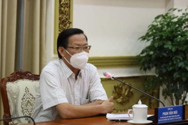 Phó Bí thư Thường trực Phan Văn Mãi: TP.HCM sẽ giới hạn thời gian người dân được ra đường-1