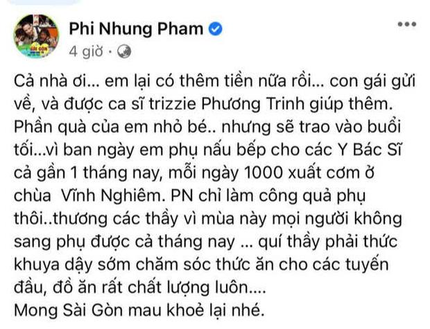 Tự hào khoe được con gái ở Mỹ gửi tiền về làm từ thiện, Phi Nhung bị antifan miệt thị là con lai liền đáp trả căng luôn-1