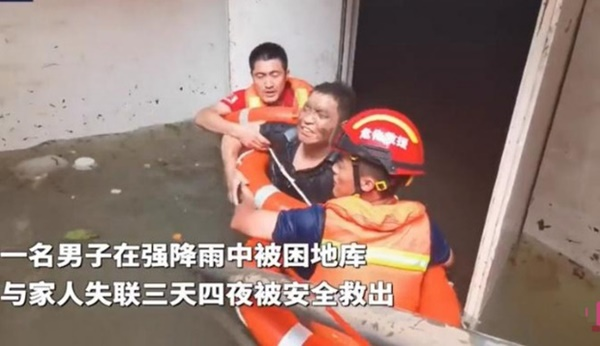 Uống nước bẩn 3 ngày 3 đêm vì bị mắc kẹt dưới hầm ngập nước sau trận lũ thảm khốc, người đàn ông đã hồi sinh ngoạn mục gây bão MXH-4