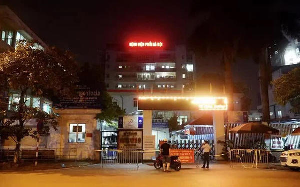 Phát hiện thêm 15 ca dương tính SARS-CoV-2 ở Bệnh viện Phổi Hà Nội, cách ly y tế toàn bệnh viện-2