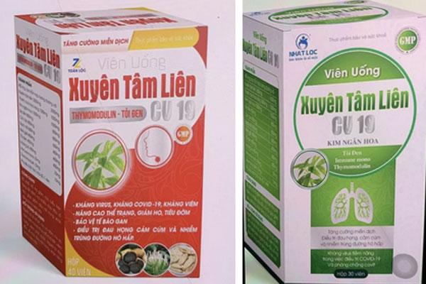Bộ Y tế cảnh báo 2 sản phẩm Xuyên Tâm Liên được quảng cáo có công dụng kháng COVID-19 là giả mạo-1