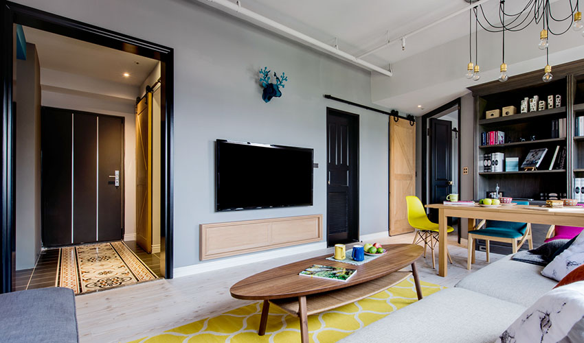 Ngôi nhà có phòng khách đủ làm bao người choáng vì độ chịu chơi, thiết kế ngầu như này liệu bạn có dám thử?-7
