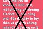 PGĐ Công an Hà Nội: Thông tin sáng mai 'có khoảng 3.000 chốt, mỗi phường có khoảng 10 chốt' là bịa đặt