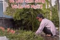 Lan truyền clip NS Hoài Linh ăn vận giản dị, đang làm vườn ở quê sau thời gian ở ẩn nhưng sự thật là gì?
