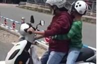 Người phụ nữ chở theo con nhỏ quát tháo ầm ĩ, đòi qua chốt kiểm soát dịch dù không có giấy tờ: 'Xê ra, đường của tôi tôi đi'