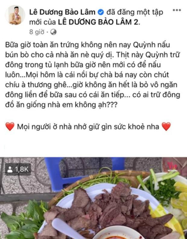 Lê Dương Bảo Lâm bị chỉ trích vì tụ tập đông người ăn bún bò mùa dịch, lời giải thích nghe có hợp lý?-1