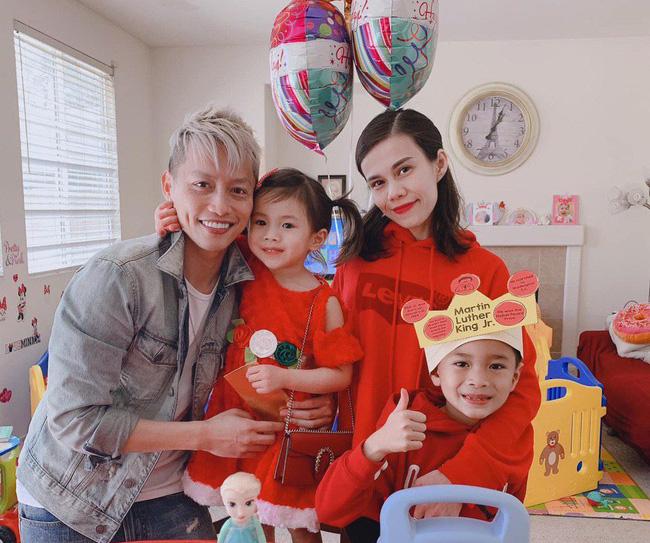 Thanh Thảo khoe ảnh gia đình hạnh phúc của em gái, con chung của Thuỵ Anh và Ngô Kiến Huy giờ lớn và soái lắm rồi-2