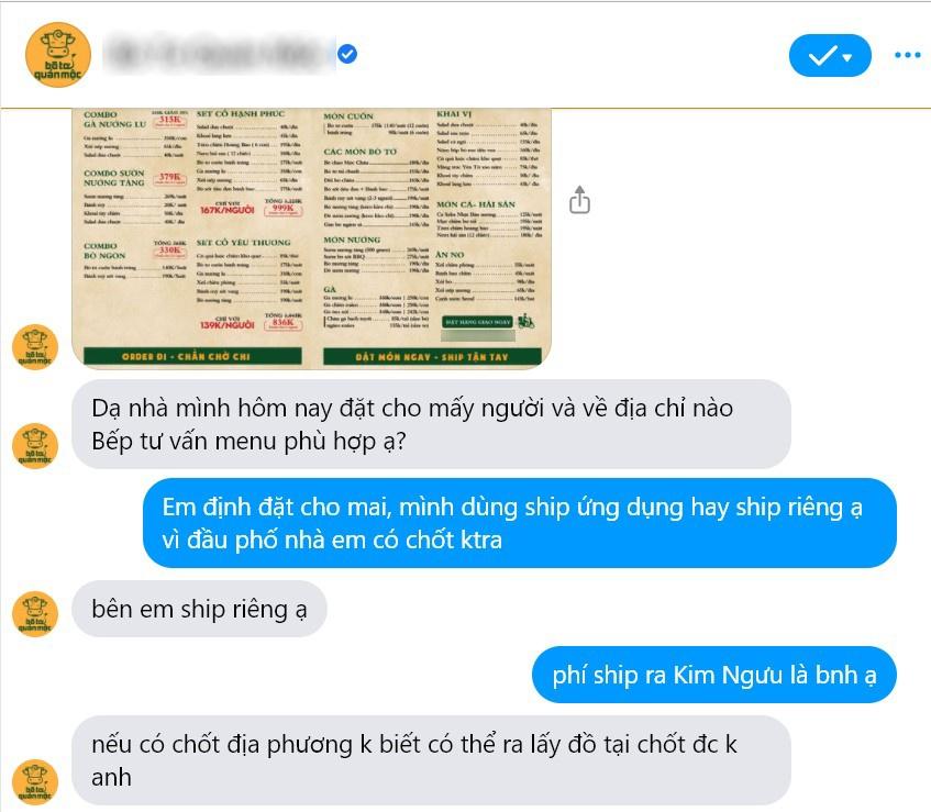 Hàng quán ở Hà Nội lách quy định để bán online-1