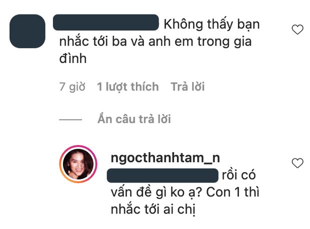 Khoe ảnh với mẹ, ái nữ nhà đại gia thủy sản đáp trả thẳng mặt netizen khi được hỏi bố đâu-3