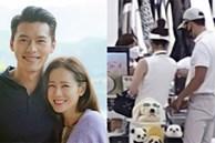 """Hyun Bin và Son Ye Jin bị """"tóm sống"""" ảnh hẹn hò chơi golf, cùng công khai đi sắm đồ như vợ chồng son"""