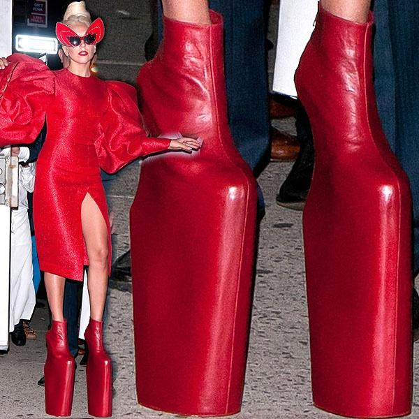 Tiền đình những lần đi giày cà kheo 40cm như diễn xiếc của Lady Gaga-7