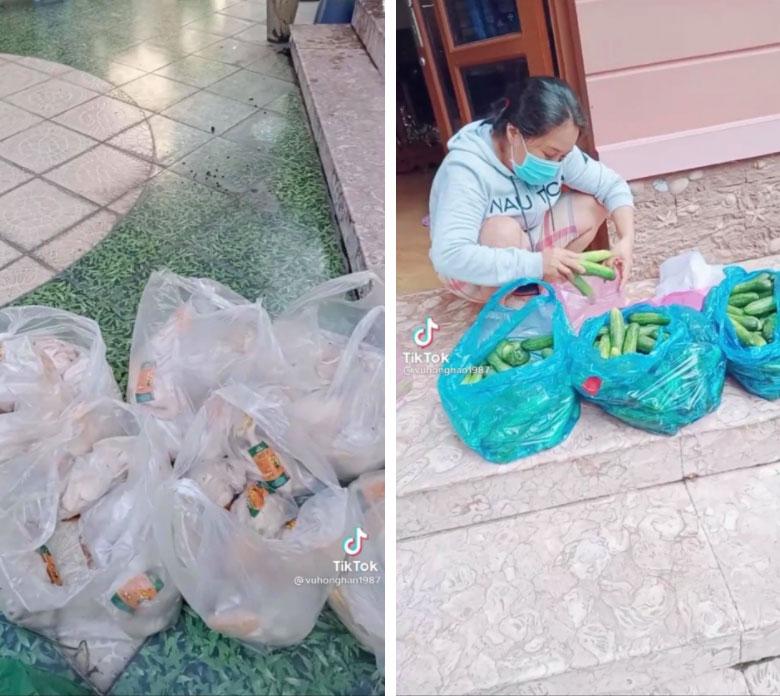 Giữa mùa dịch có một bà chủ chơi lớn tặng gạo miễn phí, cứ 3 ngày lại đều đặn phát 1 con gà và rau xanh cho người thuê trọ-2