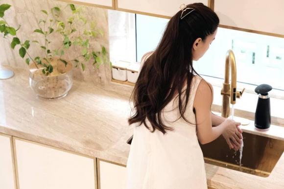 Những ngóc ngách đắt giá được Hà Hồ yêu thích trong căn biệt thự tiền tỷ hoành tráng do Kim Lý xây dựng-1