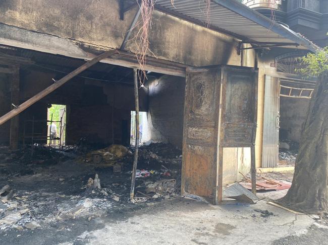 2 vợ chồng tử vong trong vụ cháy cửa hàng đồ điện ở Hải Phòng: Có dấu hiệu của một vụ án mạng-1