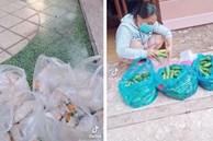 Giữa mùa dịch có một bà chủ 'chơi lớn' tặng gạo miễn phí, cứ 3 ngày lại đều đặn phát 1 con gà và rau xanh cho người thuê trọ