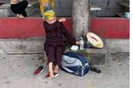 Cụ bà đi bộ từ TP.HCM về Nghệ An bật khóc ở chốt kiểm soát khi đi được 2 ngày: 'Làm sao về được nhà'