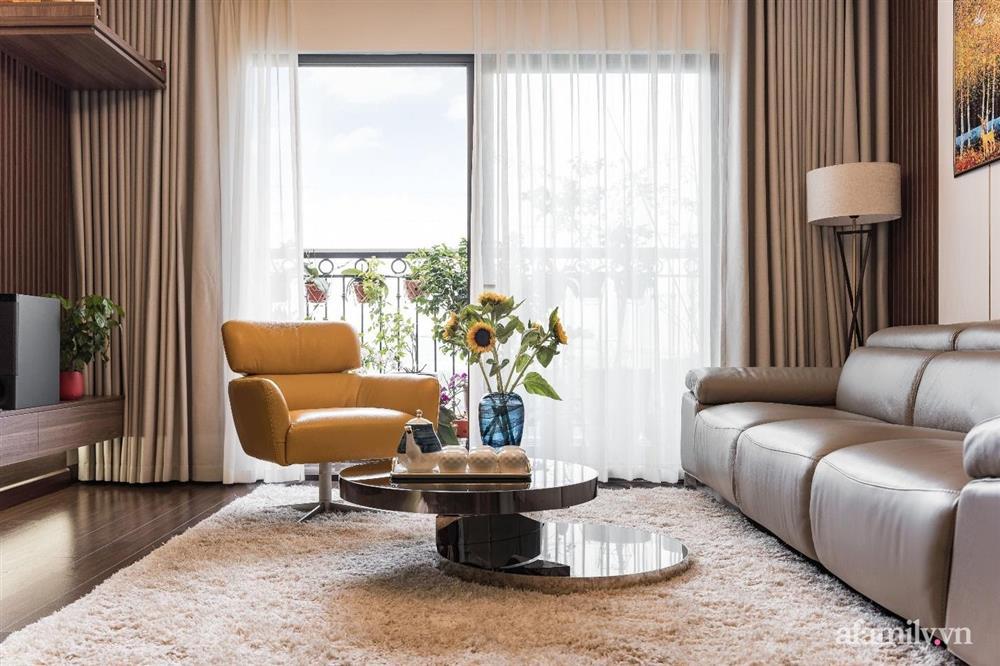 Mãn nhãn với cách thiết kế và bài trí không gian nội thất bên trong căn hộ 120m² ở Hà Nội-2