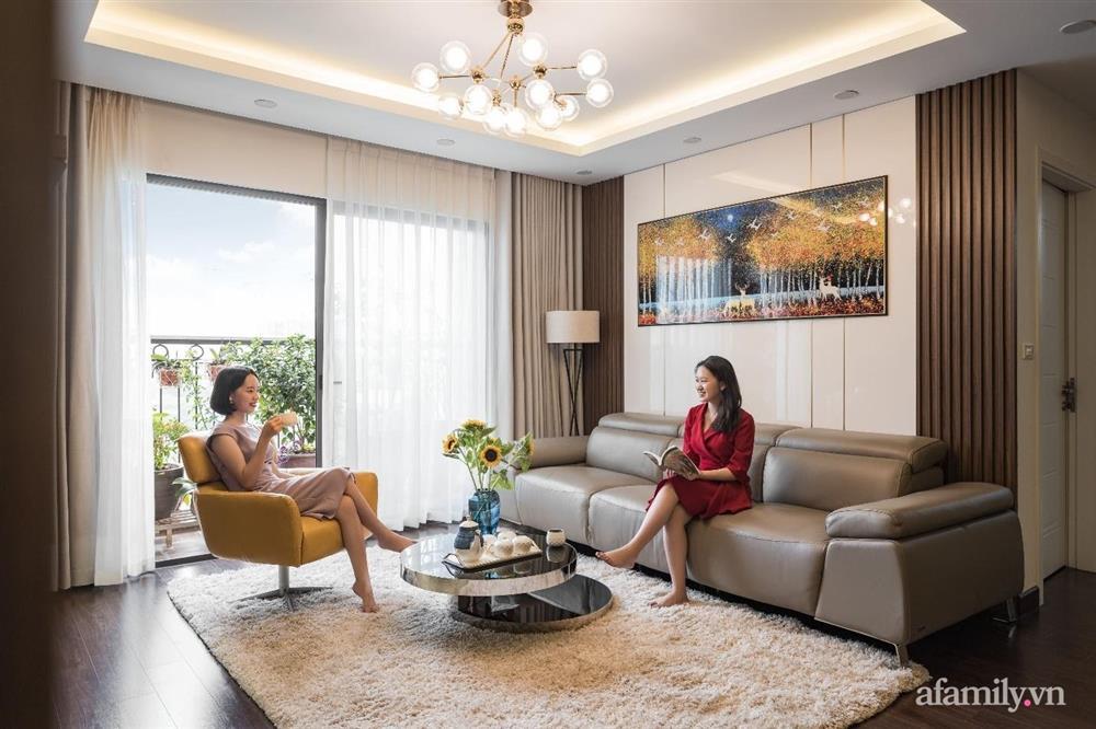 Mãn nhãn với cách thiết kế và bài trí không gian nội thất bên trong căn hộ 120m² ở Hà Nội-3