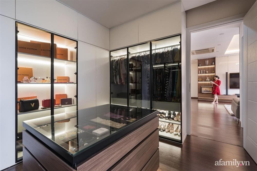 Mãn nhãn với cách thiết kế và bài trí không gian nội thất bên trong căn hộ 120m² ở Hà Nội-10