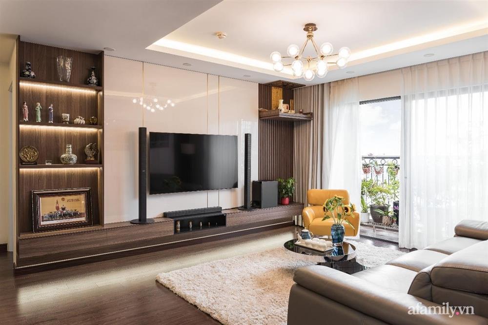Mãn nhãn với cách thiết kế và bài trí không gian nội thất bên trong căn hộ 120m² ở Hà Nội-4