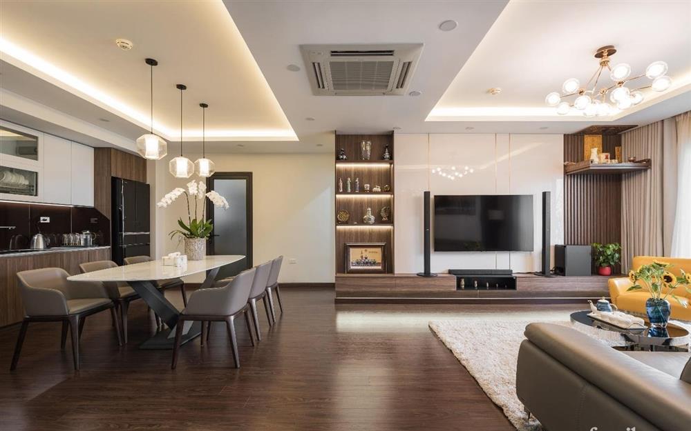 Mãn nhãn với cách thiết kế và bài trí không gian nội thất bên trong căn hộ 120m² ở Hà Nội-5