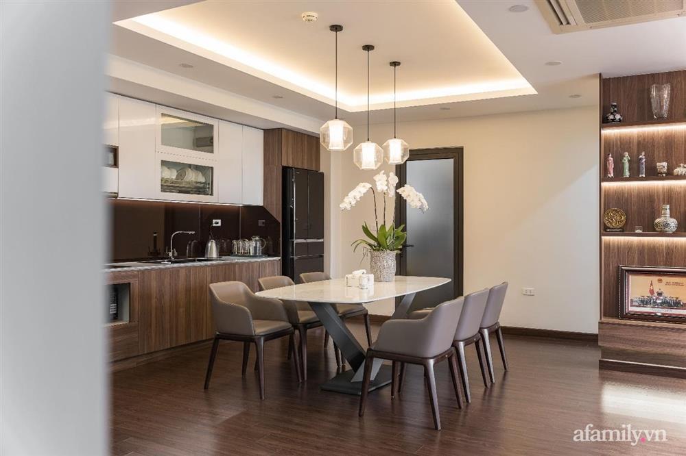 Mãn nhãn với cách thiết kế và bài trí không gian nội thất bên trong căn hộ 120m² ở Hà Nội-6