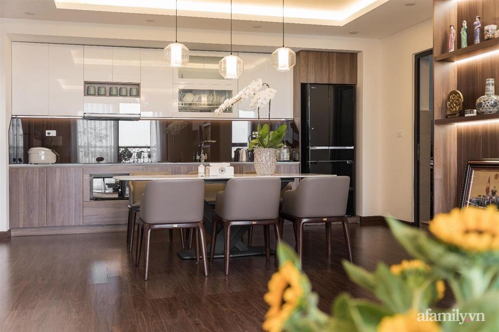 Mãn nhãn với cách thiết kế và bài trí không gian nội thất bên trong căn hộ 120m² ở Hà Nội-7