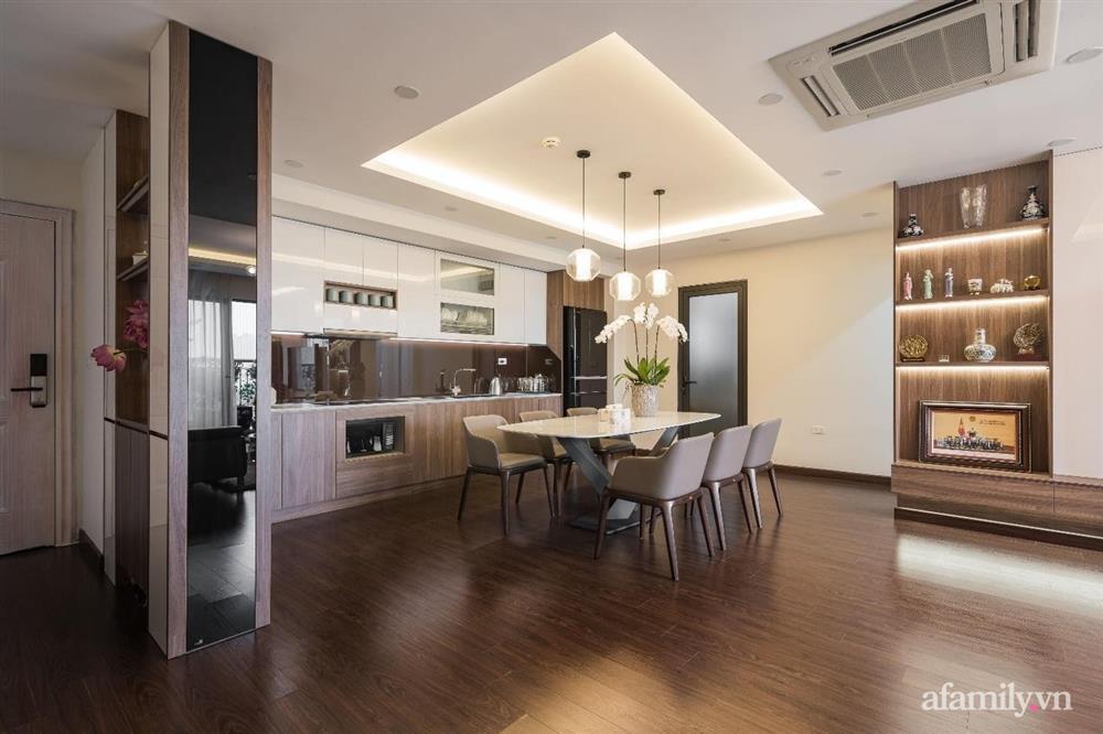 Mãn nhãn với cách thiết kế và bài trí không gian nội thất bên trong căn hộ 120m² ở Hà Nội-8